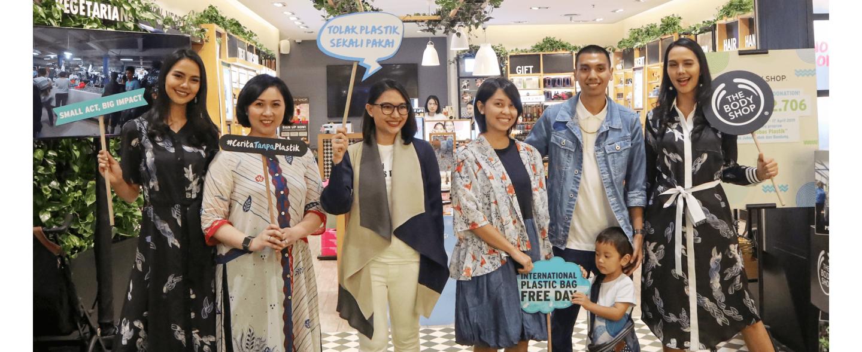 Donasi Customer untuk Sekolah Bebas Plastik