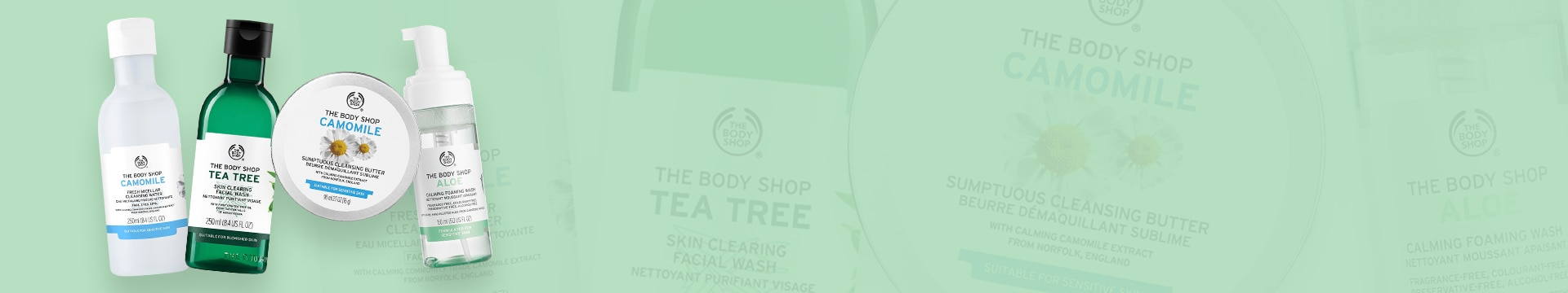Facial Washes & Cleansers