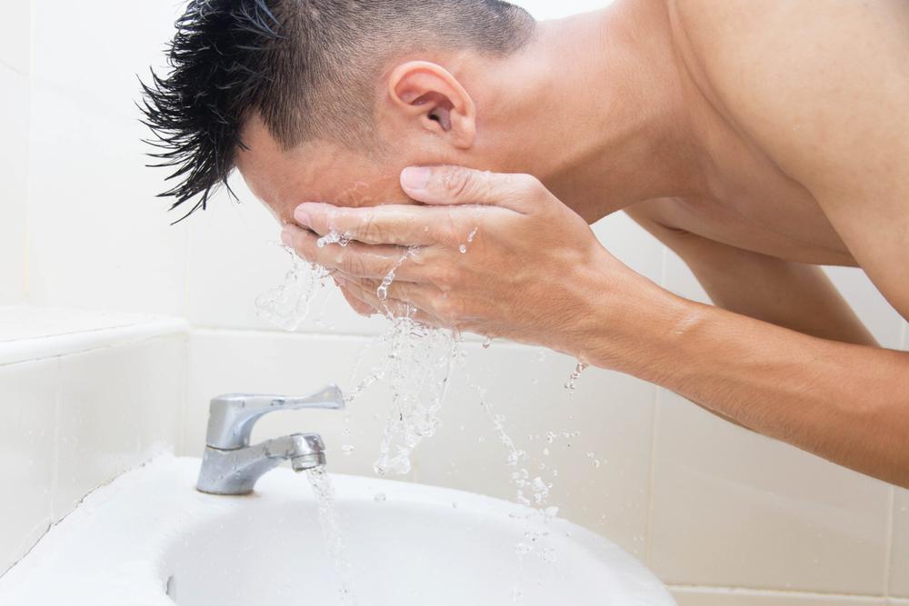 produk perawatan wajah untuk pria