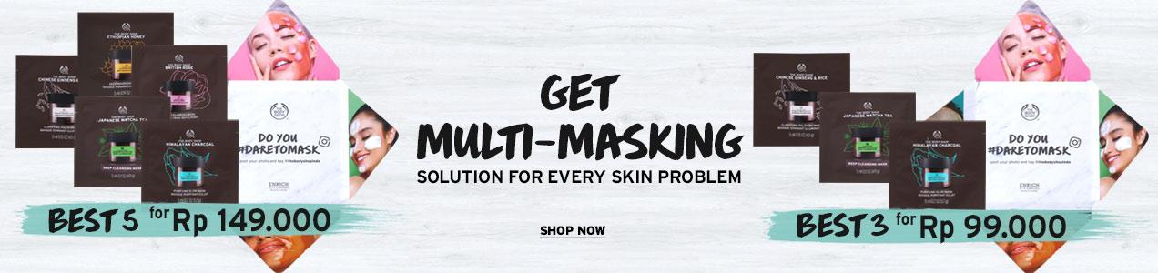 Sachet Multi Mask Bundle